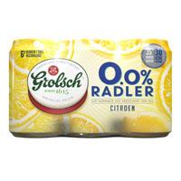 6 x 33 cl - Grolsch 0.0% Radler citroen