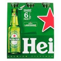 6 x 0,25 l - Heineken Premium pilsener met draaidop