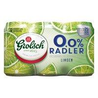 6 x 33 cl - Grolsch 0.0% Radler limoen