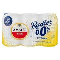 6 x 0,33 l - Amstel Radler citroen 0.0%