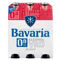 6 x 0,3 l - Bavaria 0.0% alcoholvrij bier 6-pack fles