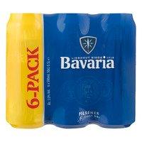 6 x 0,5 l - Bavaria Blik