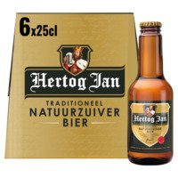 6 x 25 cl - Hertog Jan Traditioneel natuurzuiver bier