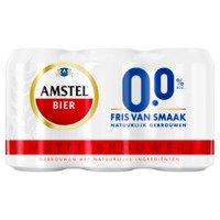 6 x 33 cl - Amstel 0,00%