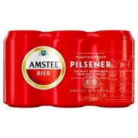 6 x 33 cl - Amstel Pilsener