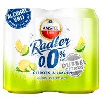 4 x 0,33 l - Amstel Radler dubbel citrus 0.0%